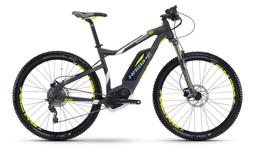 "HAIBIKE Xduro HardSeven 4.0 Elcykel MTB Hardtail 27,5"" grå"